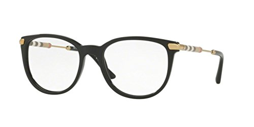 Burberry Women's BE2255QF Eyeglasses Black 53mm (Frames Burberry 53mm Optical)