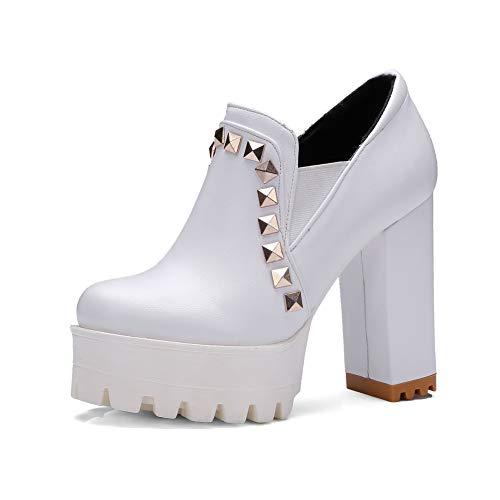 White DGU00658 Donna Sandali Zeppa 35 con AN Bianco dPYCvnCS