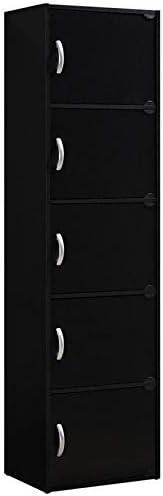 Editors' Choice: Pemberly Row 5 Shelf 5 Door Bookcase