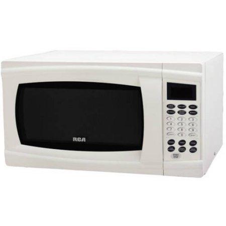 RCA RMW1112 1.1 Cubic Feet Microwave Oven, Black (White)