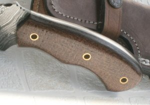 Poshland Knives Price Cut - TR-95 Handmade 10.00 Inches Damascus Steel Tracker Knife - Maple Wood Handle