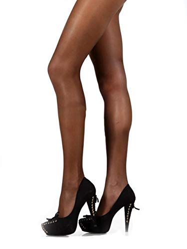 - Pierre Cardin Nude-Effect Silky Semi-Opaque Womens Tights Pantyhose City Line Belfort 40 DEN Medium (3) Black
