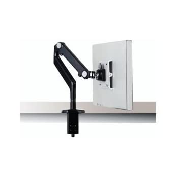 Humanscale M2 Arm with Clamp Mount, Black w/ Black Trim M2CB1S
