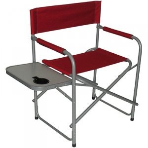 HGT FOLDING DIRECTOR'S CHAIR WITH SIDE TABLE
