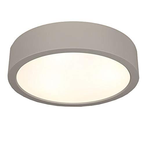 Plafón Omega Ø 36 cm | lámpara de techo cerámica 2 x E27 ...