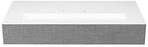 LG HU85LA Ultra Short Throw 4K UHD Laser Smart Home Theater Cinebeam Projector with Alexa built-in, LG Thinq AI, and LG webOS Lite Smart TV (Netflix, Amazon Prime and VUDU)