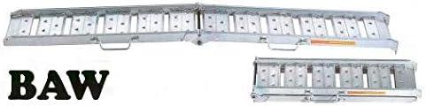 【昭和】 アルミブリッジ BAW-210-25-0.5 【フック式】 【有効長さ2100×有効幅250(mm)】 【最大積載0.5t/セット(2本)】