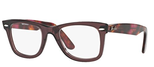 Ray-ban Rx 5121 Glasögon Lila Opal Ram