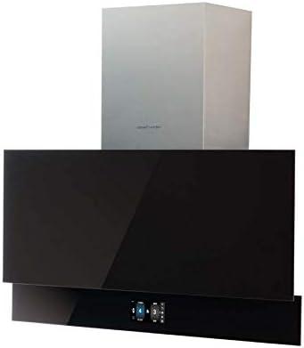 CATA GOYA PRO 90 BK 825 m³/h De pared Negro A+++ - Campana (825 m³/h, Canalizado/Recirculación, A, B, C, 64 dB): Amazon.es: Grandes electrodomésticos