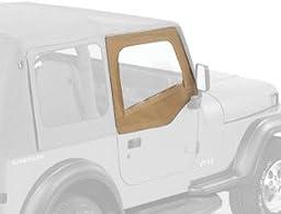 Bestop 51782-37 Spice Fabric Upper Half Door Set for 88-95 Wrangler