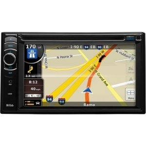 "Boss Bv9386nv Automobile Audio/Video GPS Navigation System - In-dash - 6.2"" - Touchscreen - AM Tuner, FM Tuner, Radio - Secure Digital (SD) Card - Bluetooth - USB - 800 x 480 - BV9386NV"