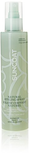(SUNCOAT PRODUCTS INC. Sugar-Based Natural Hair Styling Spray Fragrance-Free (6.7 fl. oz.) packaging may vary)