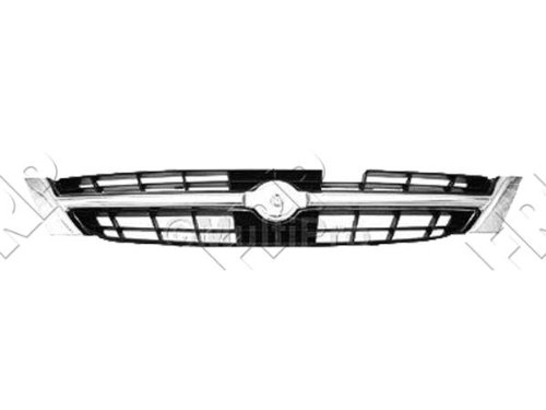 GRILLE Fits Nissan Maxima CHROME/BLACK. (WITHOUT MFR MANUFACTURER EMBLEMS / LOGOS. THEY ARE TRADEMARK PROTECTED.) (97 Nissan Maxima Emblem compare prices)