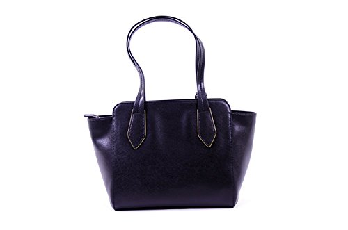 Coccinelle Shoulderbag Medium In Saffiano Black
