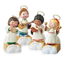 4 Piece Wireless Children Angel Choir (Hallmark) by Hallmark