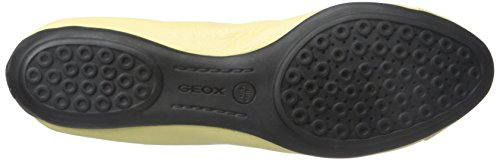 Geox Mujeres D Charlene Flat Light Yellow