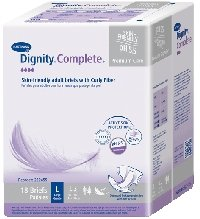 Complete Protection Briefs (Hartmann 222455 Dignity Complete Brief with Curly Fiber, Large, 45
