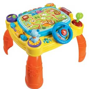 This Activity Table Can Be Used Without An IPad, Rewarding Toddlers With Fun  Sounds And