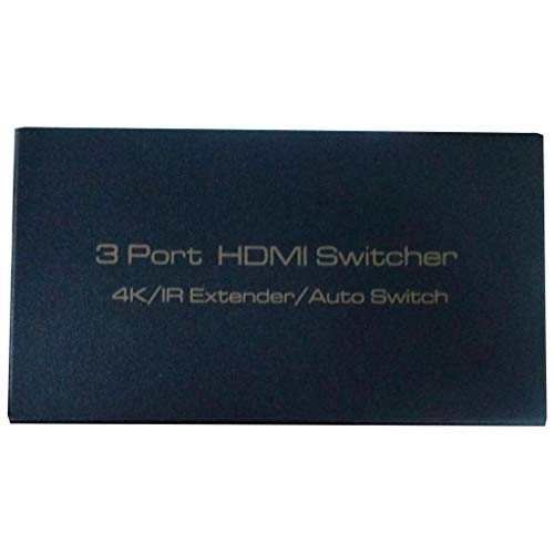 KAIPTS Hdmi Switch Three into a high-Definition 3 into a Switch Out of The TV hdmi3 Cut 1 Video switcher Give You The Best Service (Color : Like The Picture)