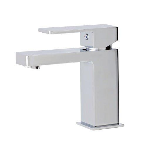 Faucet Madison Polished Chrome (Aquabrass Madison Single-Hole Lavatory Faucet - Polished Chrome)