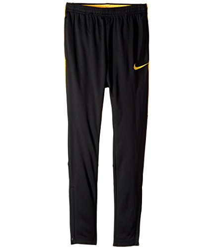 Nike Dri-Fit Academy Big Kids' Soccer Pants (Large, Black/Laser Orange) by NIKE