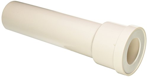 0.375' Slip - Saniflo 030 Extension Pipe, Extension Pipe Between Toilet and Macerator, White