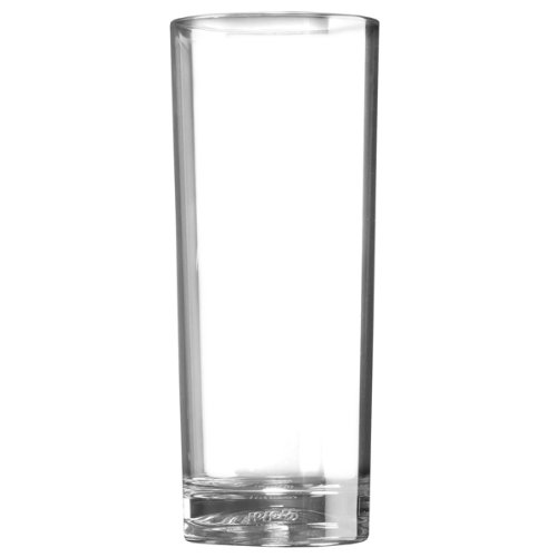 Virtually Unbreakable Polycarbonate Plastic Plastic Reusable Tumblers Elite Premium Polycarbonate Hiballs 12oz // 340ml Set of 4 Outdoors /& Event Catering by BB Plastics Ideal for Parties