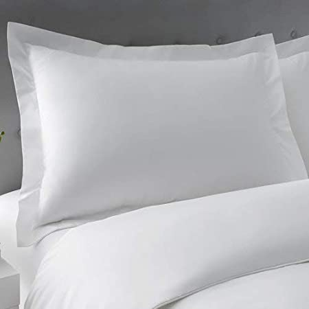 Standard Sham 20 x 26, White Standard Pillow Sham Set of 2 White Hotel Quality Stich 600 Thread Count 100/% Egyptian Cotton Decorative Standard Size Pillow Sham
