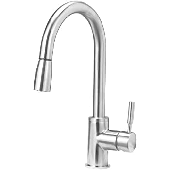 Blanco 441647 Sonoma Kitchen Faucet with Pull Down Spray, Small ...