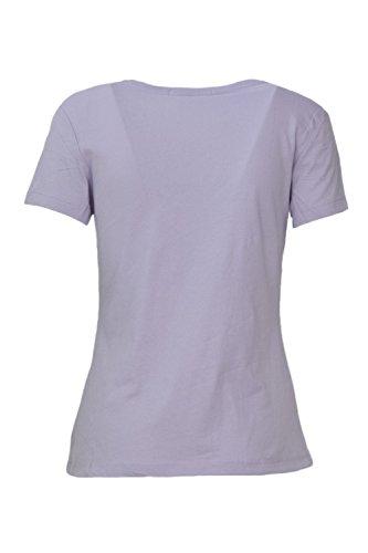 J20j207940 T shirt Lilla Klein Institutional Calvin Logo Jeans Donna qBOxg