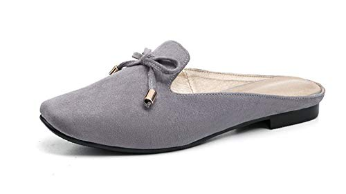 (Women Garden Shoes Slippers Sandals Scorpion Shoes Mule(Grey 37/6 B(M) US Women) )