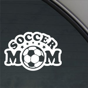 Amazoncom Soccer Mom Decal Truck Bumper Window Vinyl Sticker - Soccer custom vinyl decals for car windows