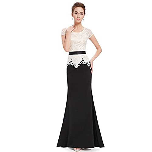 Black And White Gowns Formal Dress Amazon