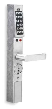 Alarm Lock Trilogy DL1300 Aluminum Narrow Stile Digital Keypad Lock w/ Audit Trail