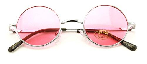 Small Round Hipster Fashion Sunglasses Lennon Elton Potter - Elton John Glasses Red