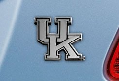 University of Kentucky Chrome Car Emblem - University Chrome Car Emblem