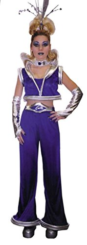 Galaxy Princess Halloween Costume (Morris Costumes Womens Space Alien Galaxy Princess Halloween Theme Party Dress, Standard (12-14))