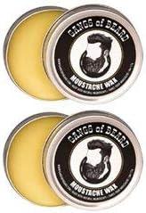 Bandas de la barba del bigote de cera (Pack de 2): Amazon.es ...