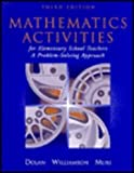 Mathematics Activities for Elementary School Teachers : A Problem Solving Approach, Dolan, Dan, 0201440962