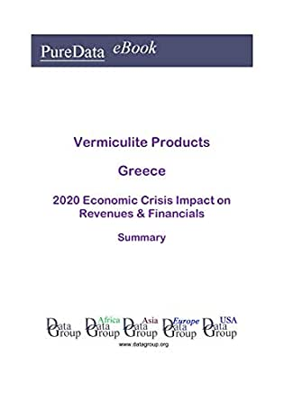 Vermiculite Products Greece Summary: 2020 Economic Crisis