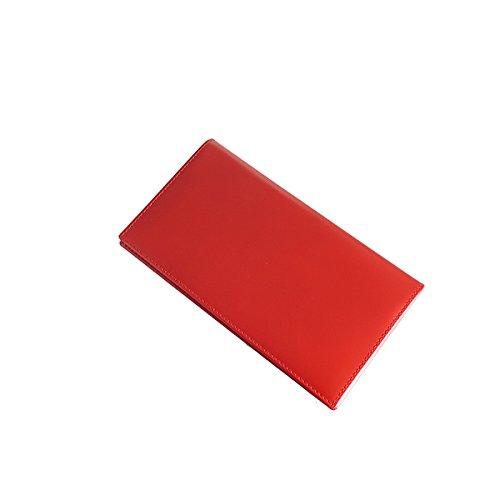 エッティンガー BRIDLE HIDE メンズ 長財布 BH806AJR-RED レッド [並行輸入品] B076YTMS34