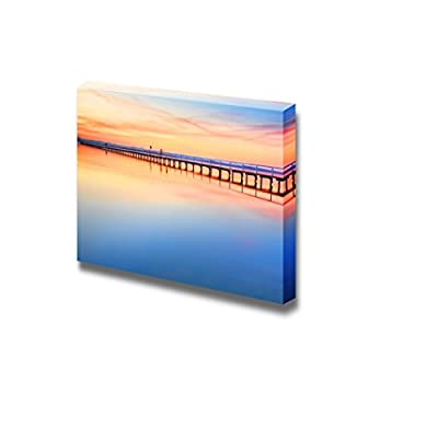 Created Just For You, Marvelous Handicraft, Long Bridge Under The Sky with Magnificent Colours Wall Decor