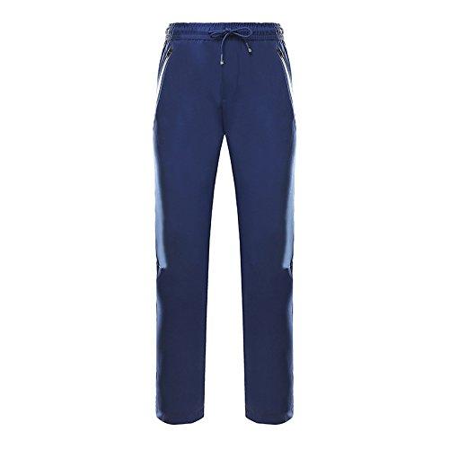 Pulsante Giacche Grandi Cerniera Pantaloni Dei Blu Sci w Dimensioni Donne Cintura Dyf Tasca Di Fym Uomini TxfwTqOr