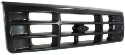 Black FO1200172 F6TZ8200AAA New Front Grille For 1992-1997 Ford F-Series