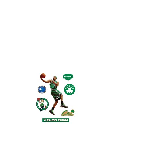 Stickers Dazzle Stars (Rajon Rondo Boston Celtics Fathead Jr. Wall Decal)