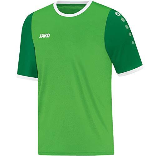JAKO Maillot Leeds KA Maillots de Foot 13-14 Ans Soft Green/Sportgrün