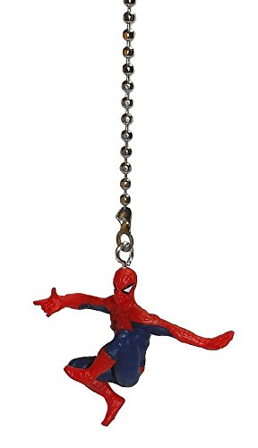 Super Hero Ceiling Fan Pull Ornament (Spider Man Knee Up)