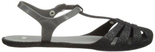 Mel Womens Marshmellow Fashion Sandals Black Glitter kvbuPR