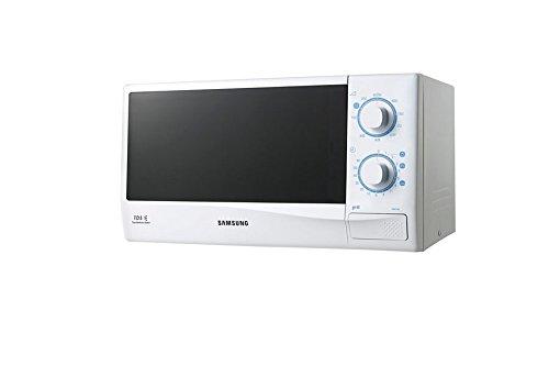 Samsung GW712K Encimera - Microondas (Encimera, Microondas con Grill, 20 L, 800 W, Giratorio, Blanco)- Versión Extranjera