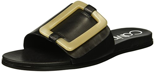 Calvin Klein Women's Patreece Slide Sandal Black